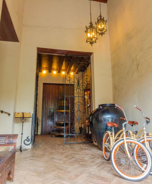 Bicicletas en Bastión Luxury Hotel Bastión Luxury Hotel Cartagena de Indias