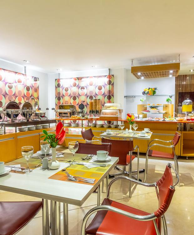 Gastronomía Hotel Four Points By Sheraton Cali Cali