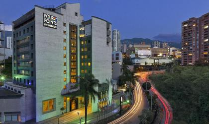 Fachada hotel four points by sheraton medellín