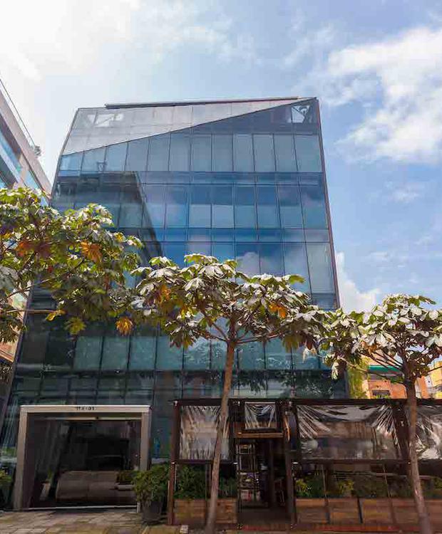 fachada Hotel GHL Collection 93 Bogotá