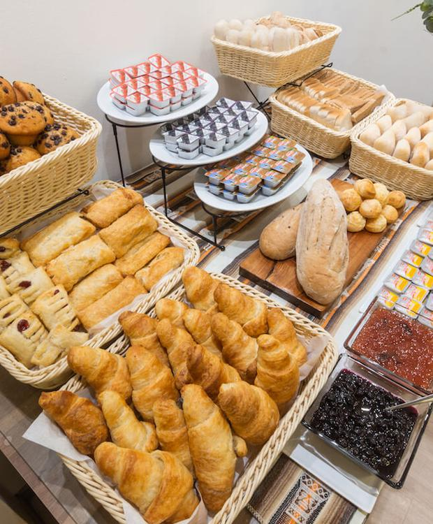 Desayuno buffet Hotel Geotel Calama Calama