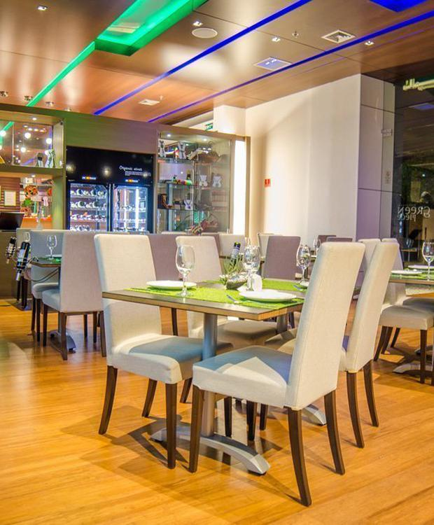 Restaurante Green Piece Biohotel Organic Suites Bogotá
