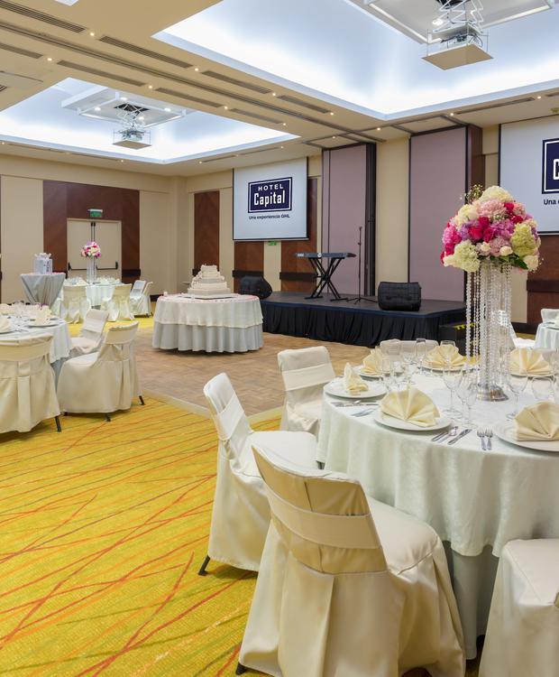 Salón Capital GHL Hotel Capital GHL Hotel Capital Bogotá