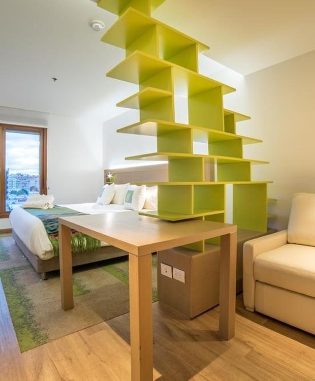 Habitación deluxe superior Biohotel Organic Suites Bogotá