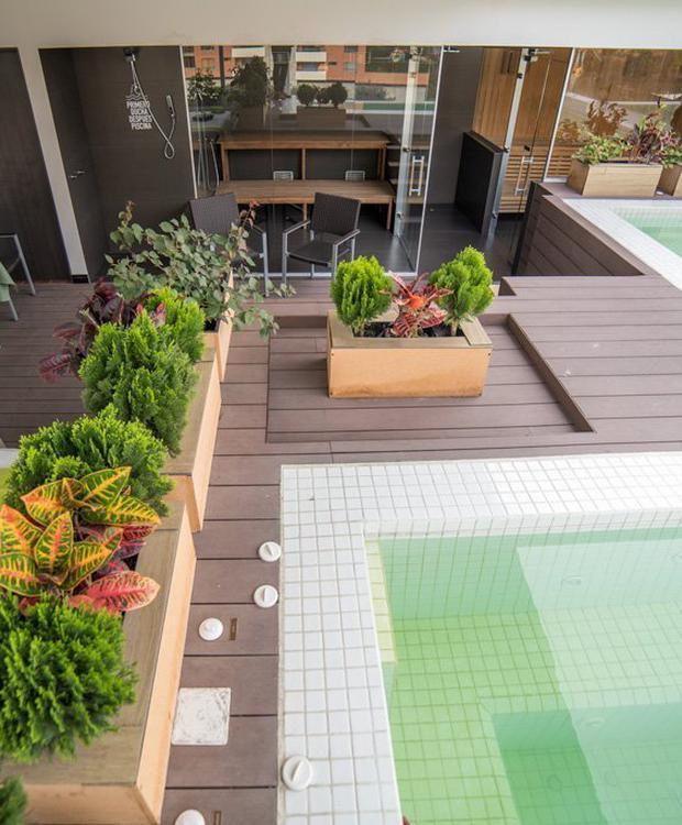 Zonas húmedas Biohotel Organic Suites Bogotá
