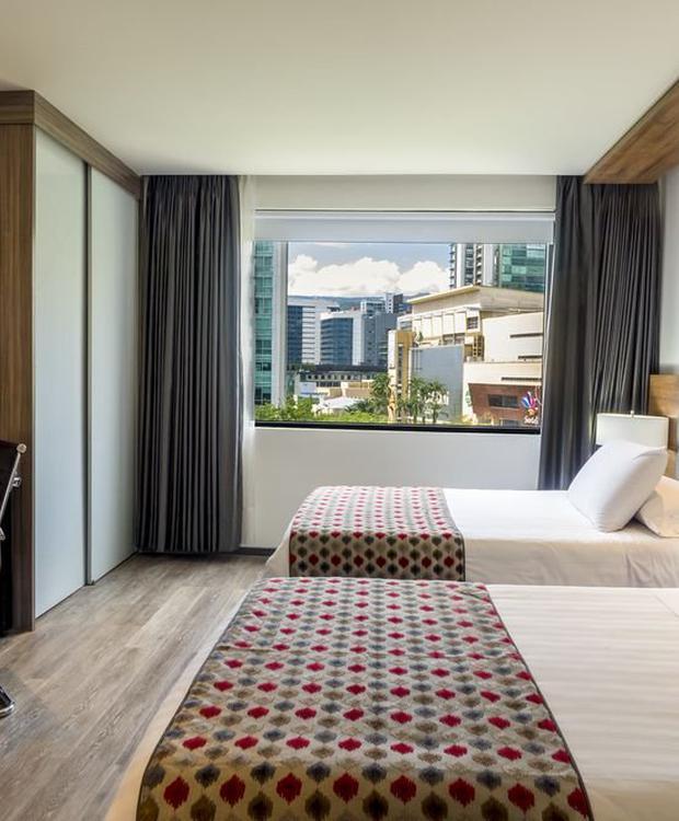 Habitación lujo twin GHL Hotel Portón Medellín Medellín