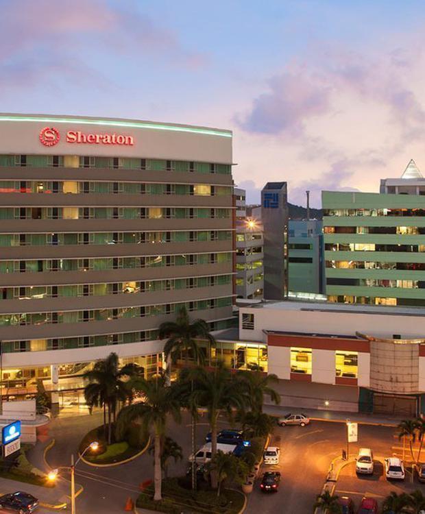 Fachada Sheraton Guayaquil Hotel Guayaquil