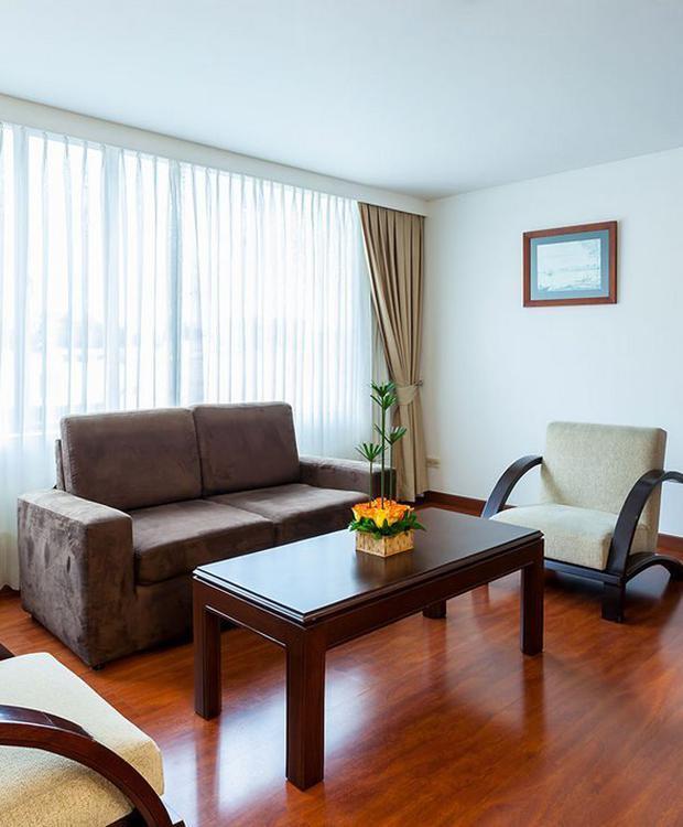Habitación Junior Suite GHL Style Hotel Belvedere Bogotá