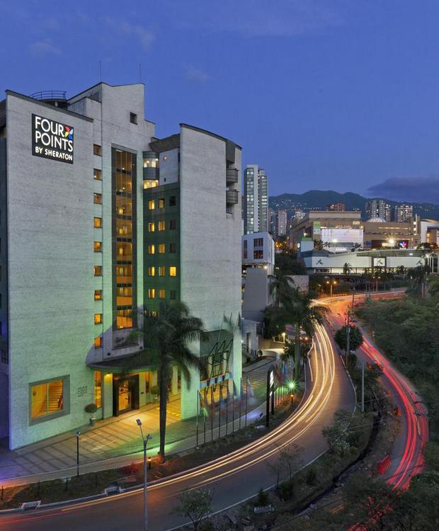 Fachada Hotel Four Points By Sheraton Medellín Medellín