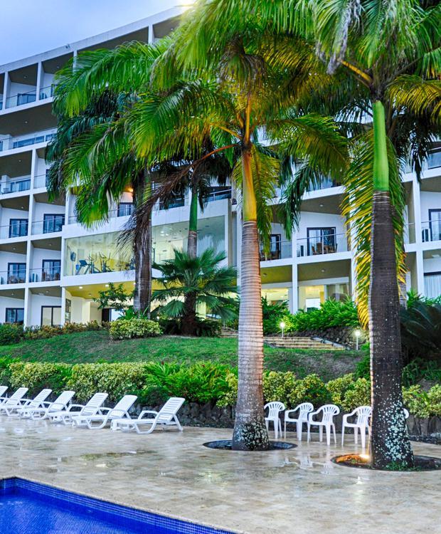 Fachada Makana GHL Relax Hotel Makana Resort Tonsupa