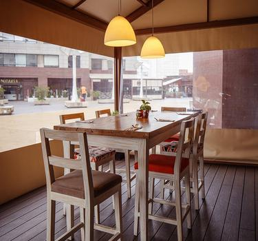Terrace by cook´s hotel ghl collection hamilton bogotá