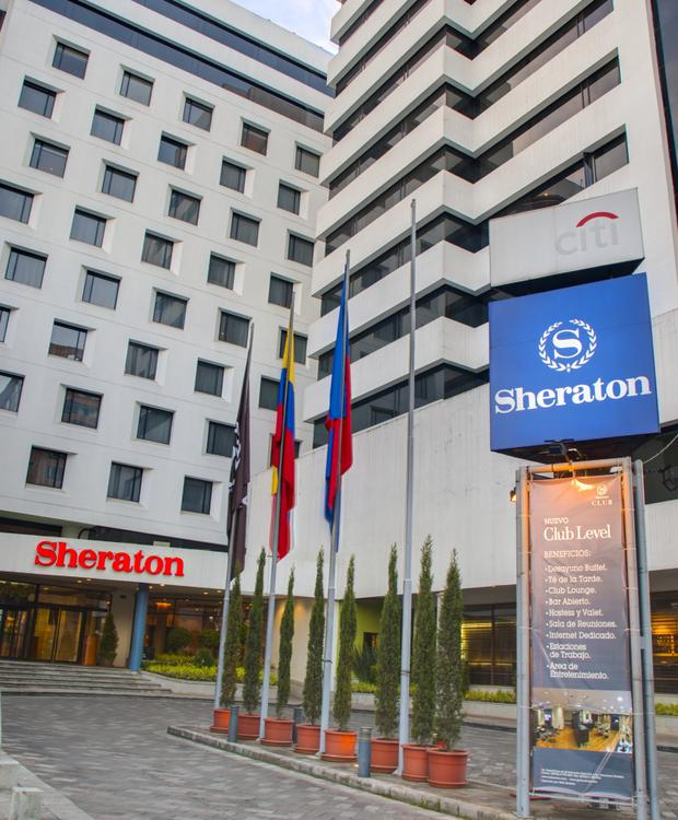 Fachada Sheraton Quito Hotel Quito