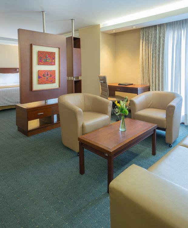Habitación Junior Suite GHL Hotel Capital GHL Hotel Capital Bogotá