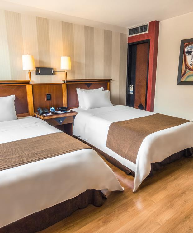 Habitación Standard Twin Hotel GHL Abadía Plaza Pereira