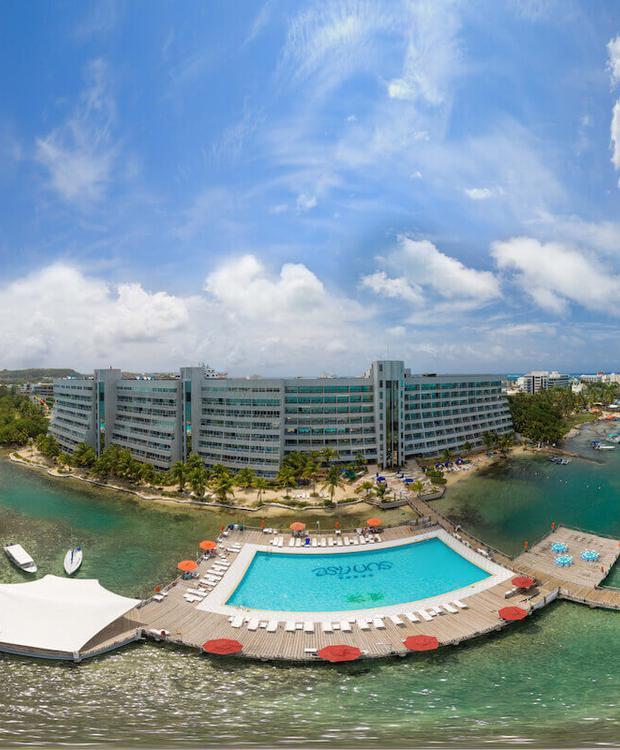 Exteriores GHL Relax Hotel Sunrise San Andrés