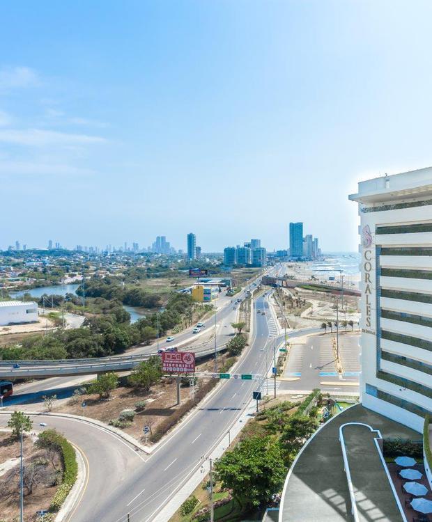 Fachada GHL Hotel Relax Corales de Indias Cartagena de Indias