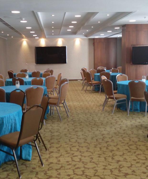 Sala de estar Hotel Hilton Garden Inn Panamá Ciudad de Panamá