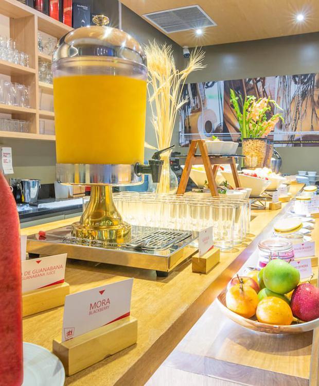 Desayuno buffet GHL Style Hotel Yopal Yopal