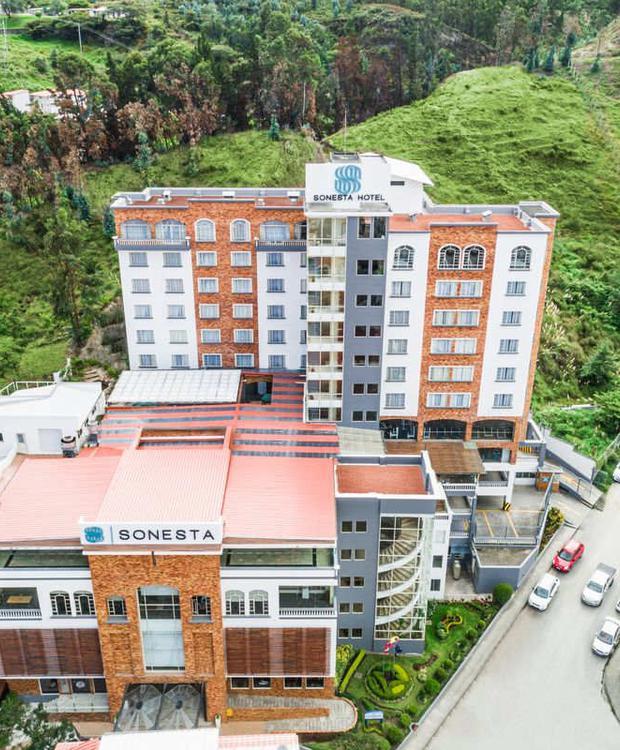 Fachada Sonesta Hotel Loja Loja