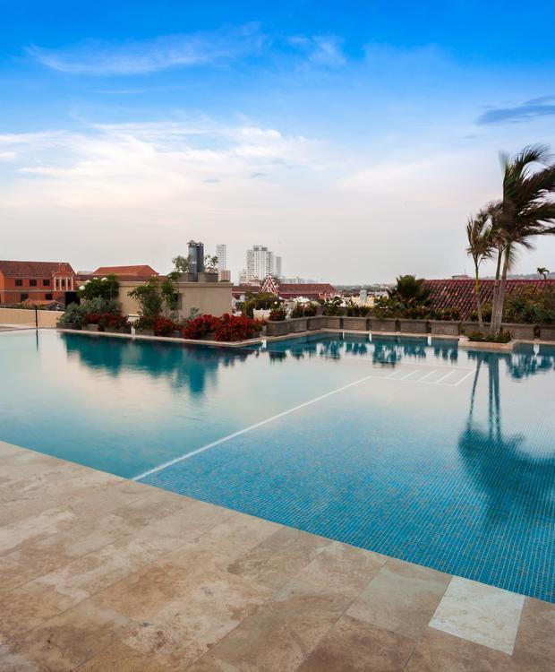 Piscina en Bastión Luxury Hotel Bastión Luxury Hotel Cartagena de Indias