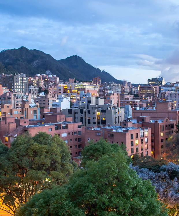 Vista Bogotá Bioxury Hotel Bogotá