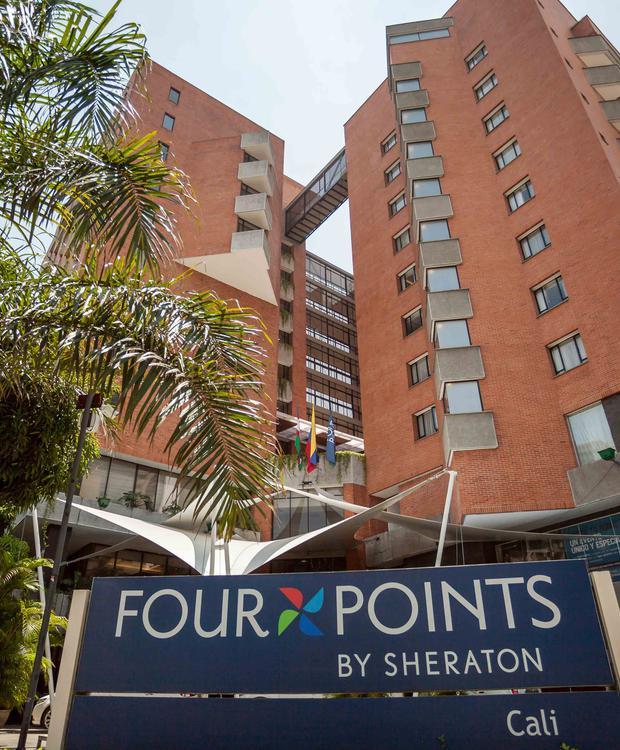 Fachada Four Points by Sheraton Cali Hotel Four Points By Sheraton Cali Cali