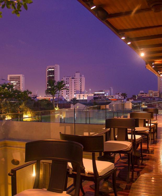 Terraza en Bastión Luxury Hotel Bastión Luxury Hotel Cartagena de Indias