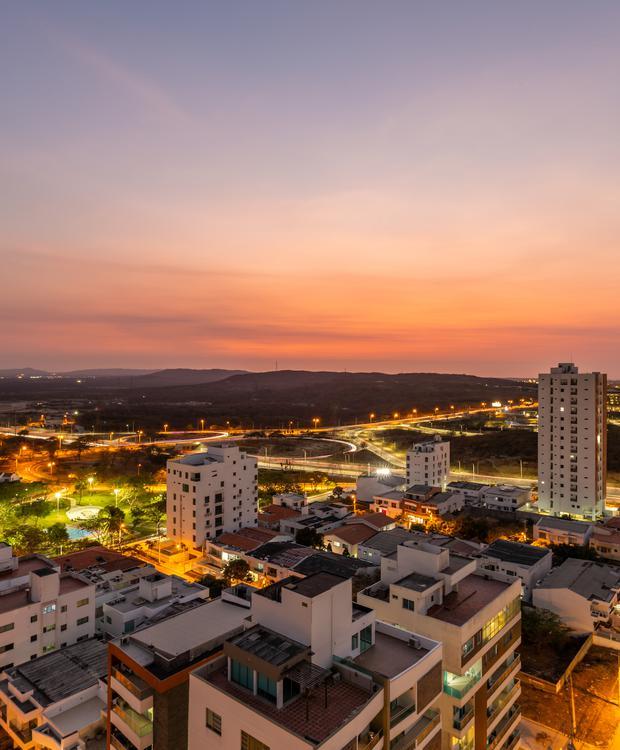 Vista de la ciudad Sonesta Hotel Barranquilla  Barranquilla