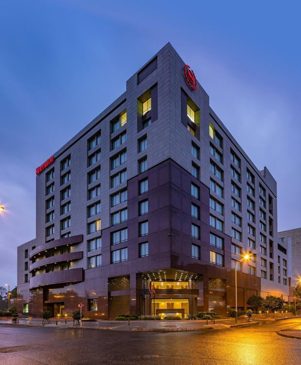 Fachada Sheraton Bogota Hotel Sheraton Bogotá Hotel Bogotá
