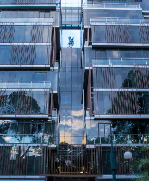 fachada Bioxury Hotel Bogotá