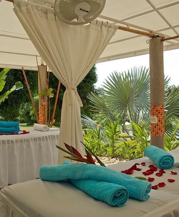 Gazebo de masajes GHL Relax Hotel Club El Puente Girardot