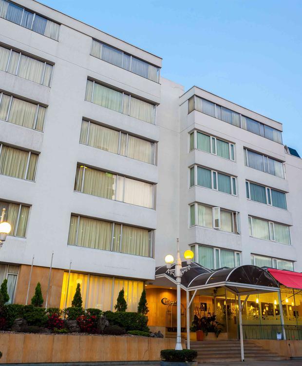 Fachada Belvedere GHL Style Hotel Belvedere Bogotá