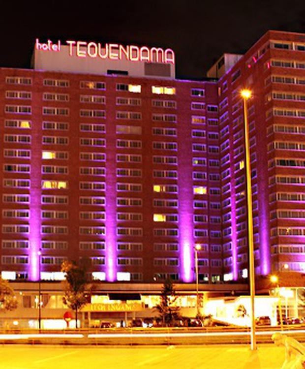 Fachada Hotel Tequendama Bogotá