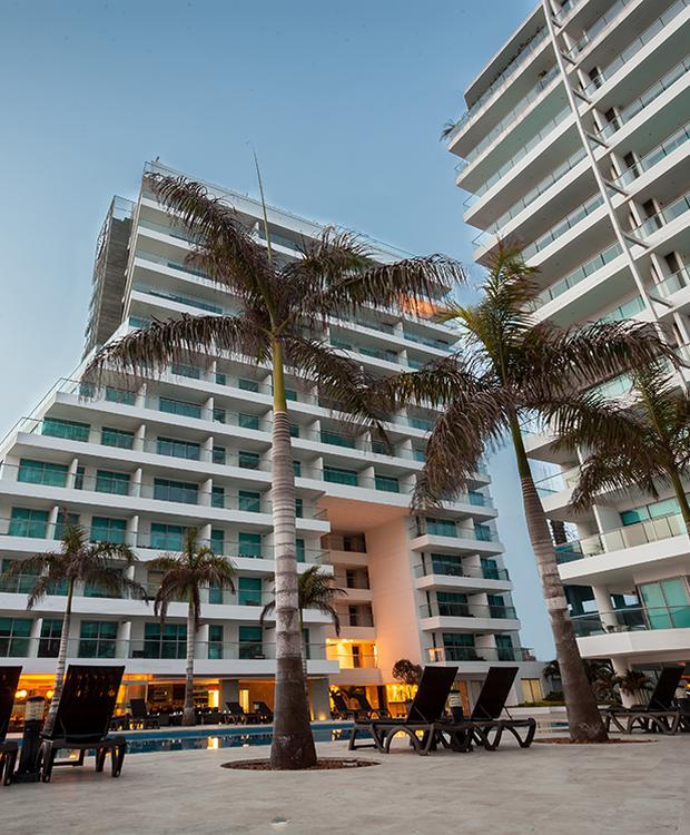 Fachada Sonesta Hotel Cartagena Cartagena de Indias