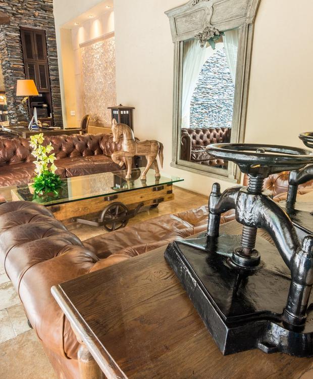 Lobby del Bastión Luxury Hotel Bastión Luxury Hotel Cartagena de Indias