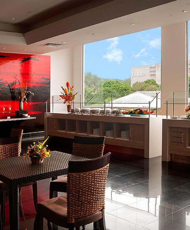 Vista restaurante Villavicencio