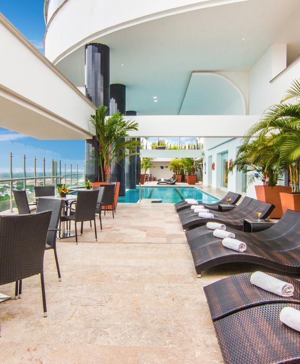 Terraza GHL Hotel Grand Villavicencio Villavicencio