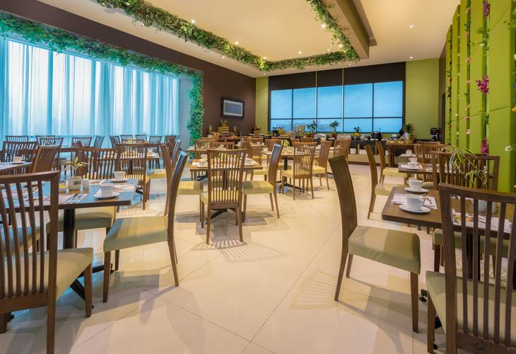 Restaurante sky forest ghl collection barranquilla hotel
