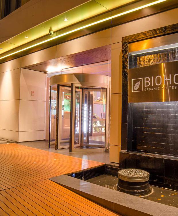 Entrada Biohotel Organic Suites Bogotá