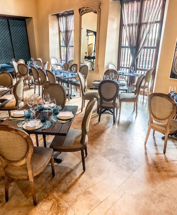 Restaurante Bastión Luxury Hotel Cartagena de Indias