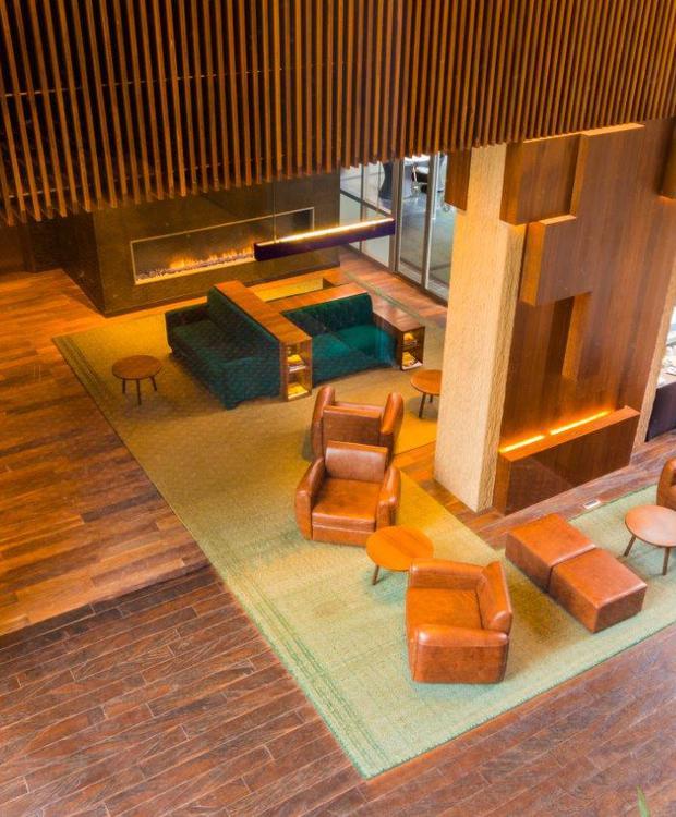 Recepción Bioxury Hotel Bogotá