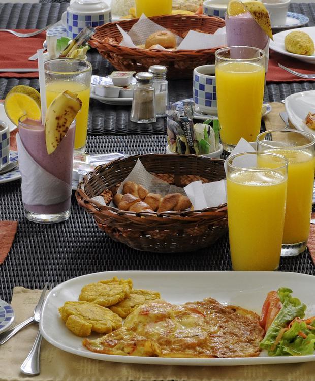Desayuno GHL Relax Hotel Makana Resort Tonsupa