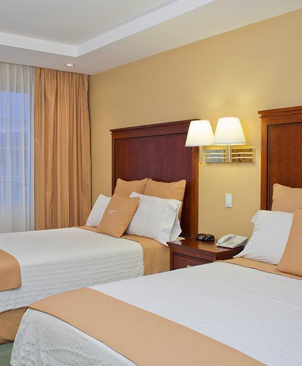 Habitación doble Hotel Howard Johnson Loja Loja