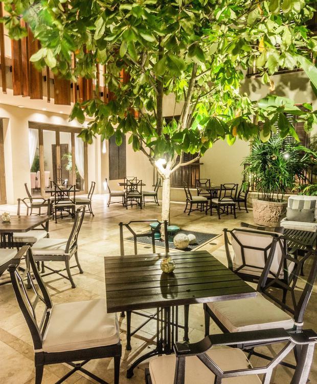 Patio El Gobernador en Bastión Luxury Hotel Bastión Luxury Hotel Cartagena de Indias