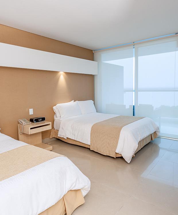 Habitación doble Sonesta Hotel Cartagena Cartagena de Indias