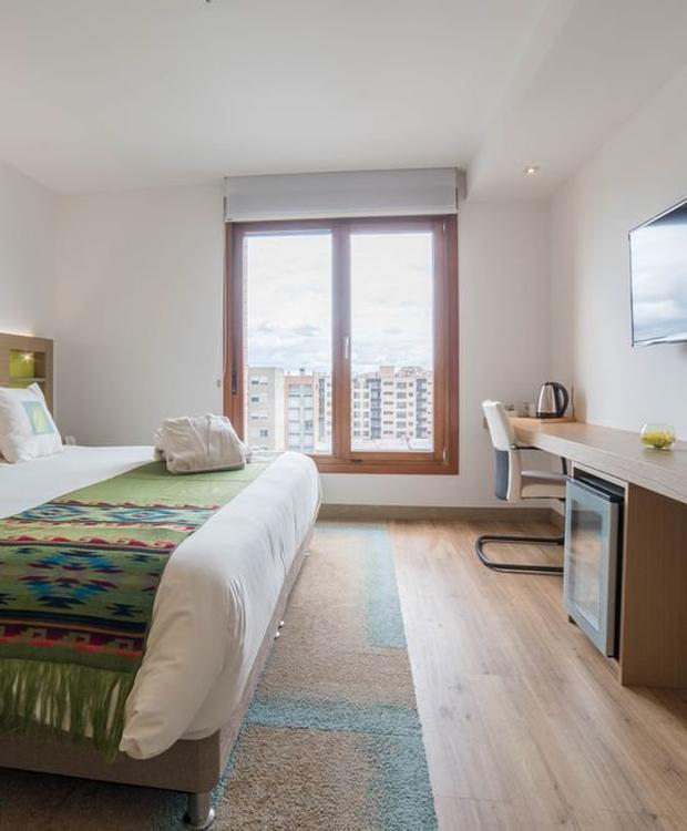 Junior suite con jacuzzi Biohotel Organic Suites Bogotá