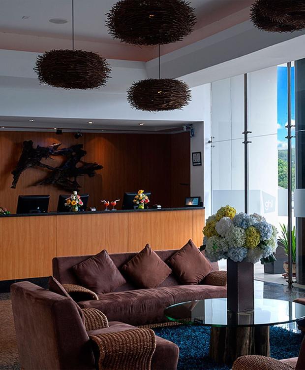 Lobby Villavicencio GHL Hotel Grand Villavicencio Villavicencio