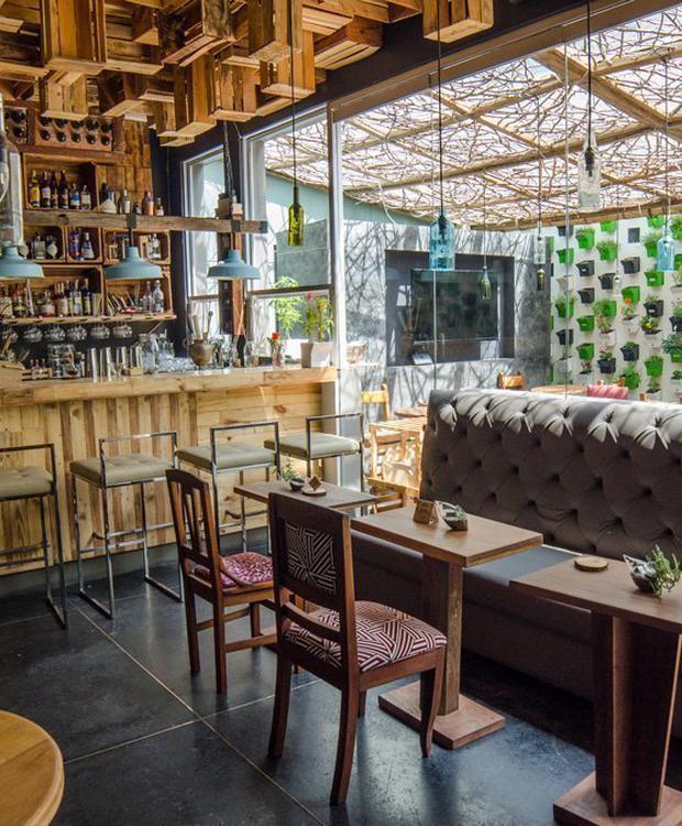 Huerta bar Biohotel Organic Suites Bogotá