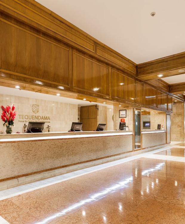 Lobby Hotel Tequendama Bogotá