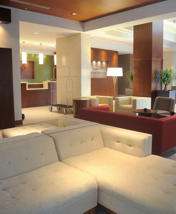Lobby Hotel Hilton Garden Inn Panamá Ciudad de Panamá